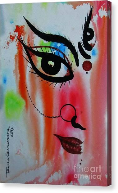 Ma Durga-5 Canvas Print