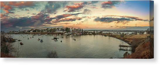 Canvas Print featuring the photograph Mackerel Cove Sunrise by Guy Whiteley