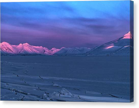 Magic Artic Canvas Print