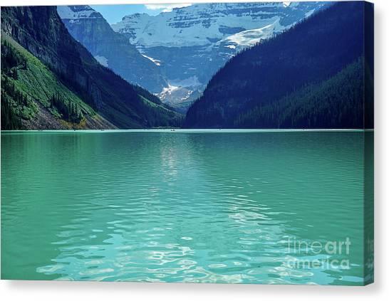 Magic At Lake Louise Canvas Print