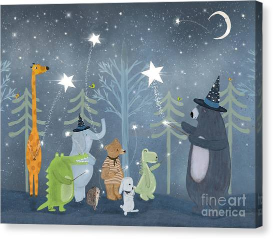 Magic Stars Canvas Print by Bri Buckley