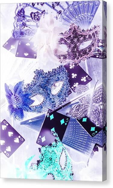 Masquerade Canvas Print - Magical Masquerade by Jorgo Photography - Wall Art Gallery