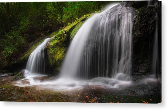 Magical Falls Canvas Print