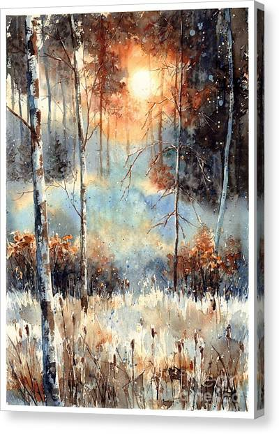 Belize Canvas Print - Magical Sun by Suzann Sines