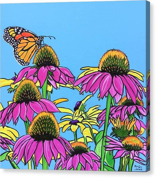 Magnificant Monarch Canvas Print