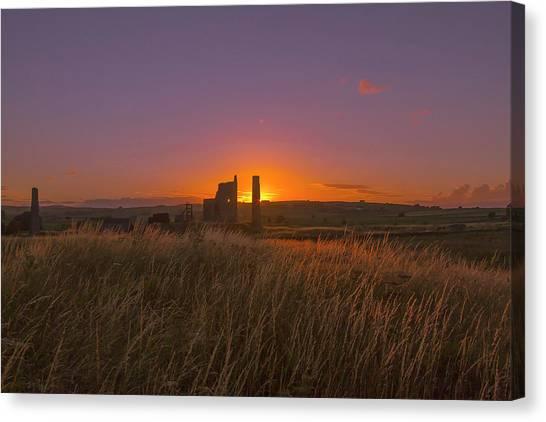 Magpie Mine Sunset Canvas Print