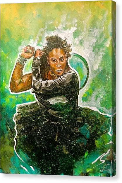 Mama Said Knock You Out Canvas Print