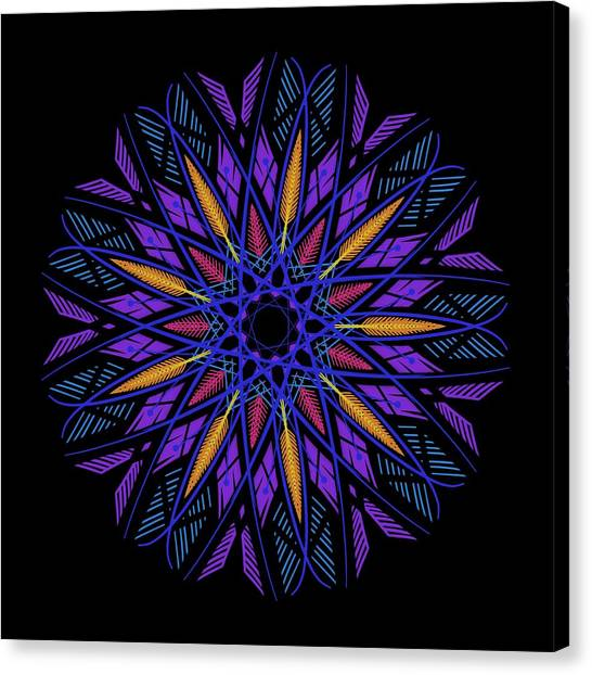 beb07efa2bd Dreamcatcher Canvas Print - Mandala Dreamcatcher by Vitaliy Gladkiy