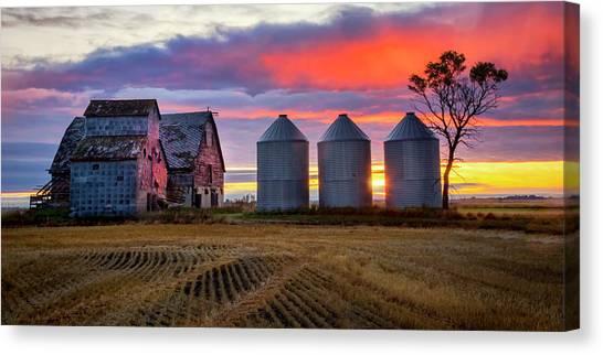 Manitoba Rural Scene Canvas Print