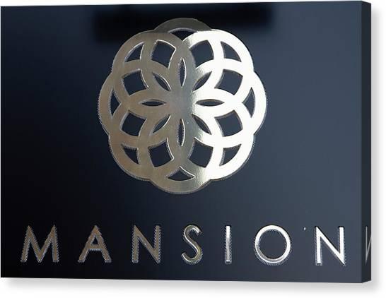 Colours. Mansion Black Canvas Print