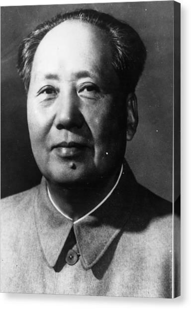 Mao Tse-tung Canvas Print by Keystone