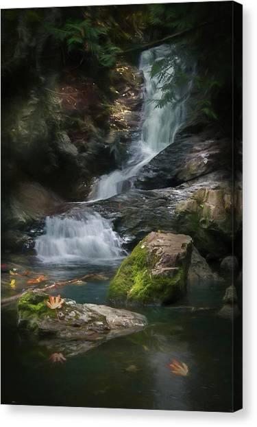 Maple Leaf Falls Canvas Print