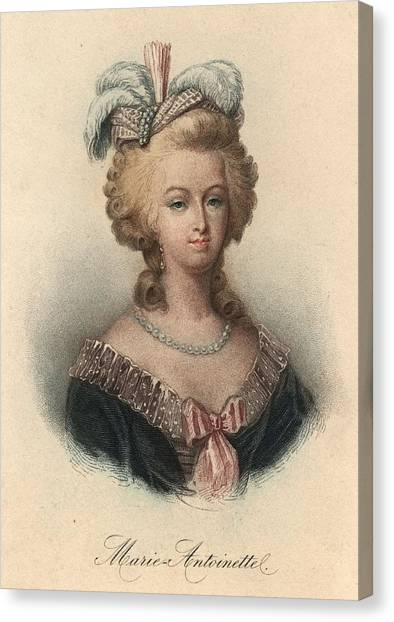 Marie Antoinette Canvas Print by Hulton Archive
