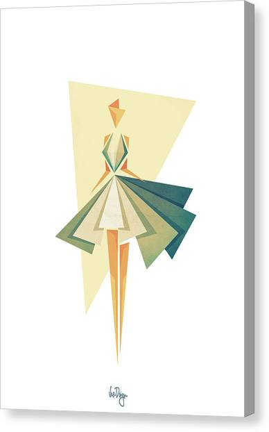 Fashion Canvas Print - Marilyn by Vess DSign