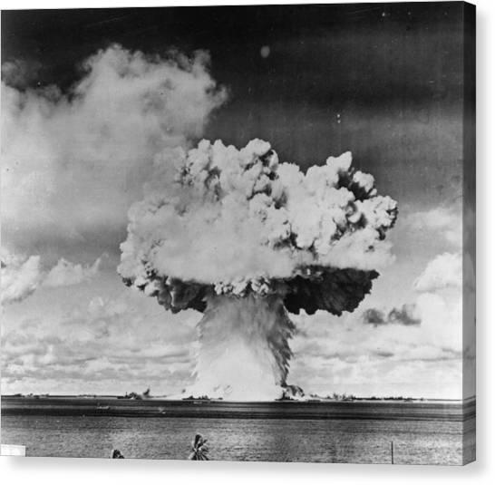Marine Explosion Canvas Print by Keystone