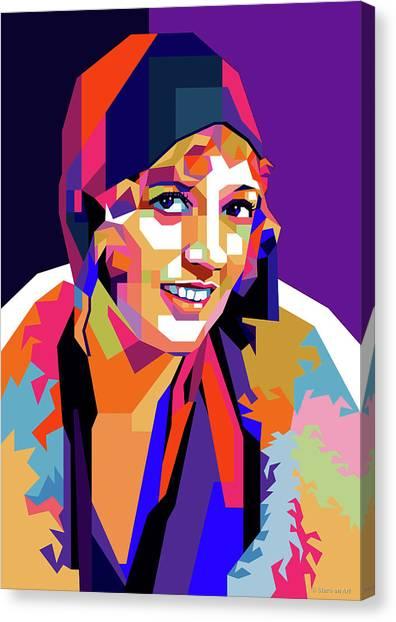 Marion Davies Canvas Print