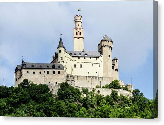 Marksburg Castle Canvas Print