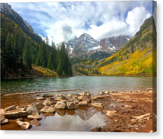 Maroon Bells Canvas Print