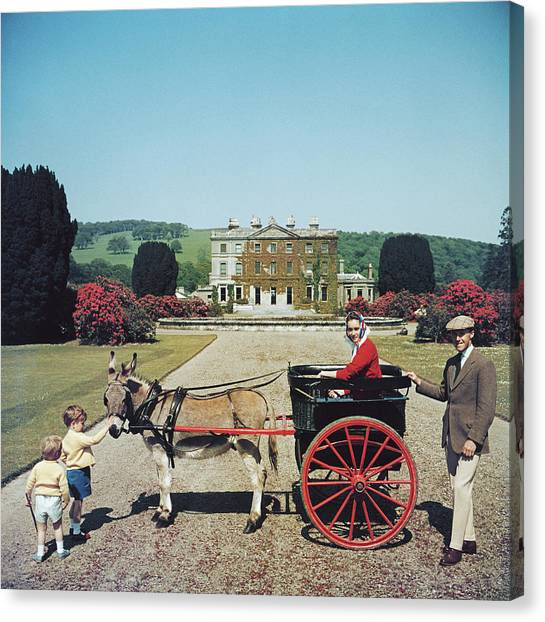 Waterford Canvas Print - Marquess Of Waterford by Slim Aarons