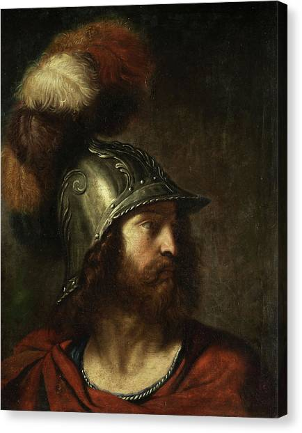God Of War Canvas Print - Mars by Bolognese School of the 18th century