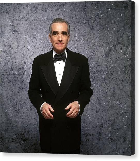 Martin Scorcese At Cannes Film Festival Canvas Print