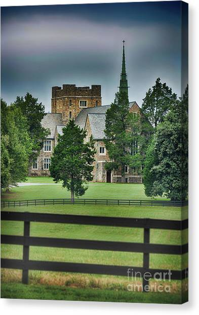 Mary Hall, Berry College Canvas Print