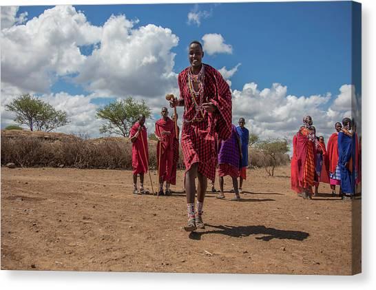 Maasai Welcome Canvas Print