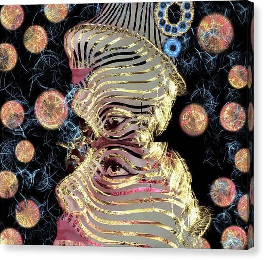 Mask My Minds Eye Canvas Print
