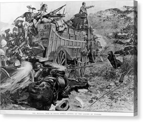 Matabele War Canvas Print by Hulton Archive