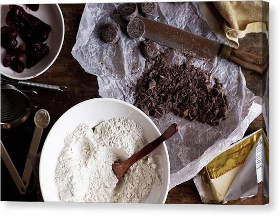 Materials For Cake Canvas Print