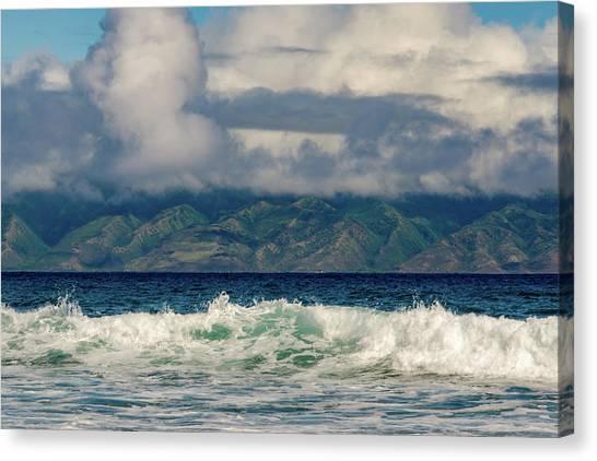 Maui Breakers II Canvas Print