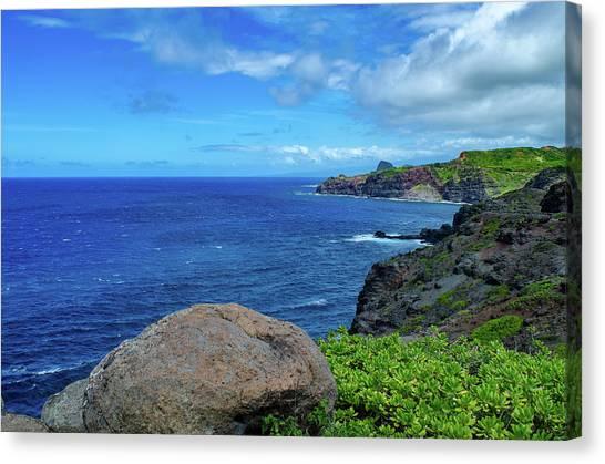 Maui Coast II Canvas Print