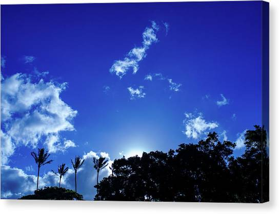 Maui Sky Canvas Print