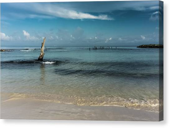 Mayan Shore 3 Canvas Print
