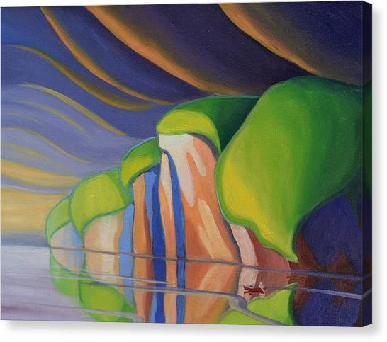Mazinaw Rock I Canvas Print