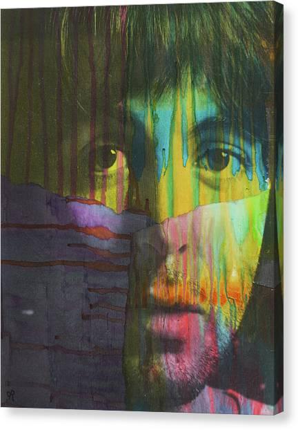 Paul Mccartney Canvas Print - Mccartney Dript by Dean Russo Art
