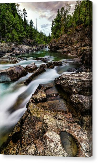 Mcdonald Creek Canvas Print