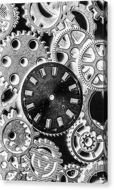 Brass Canvas Print - Mechanical Machines by Jorgo Photography - Wall Art Gallery
