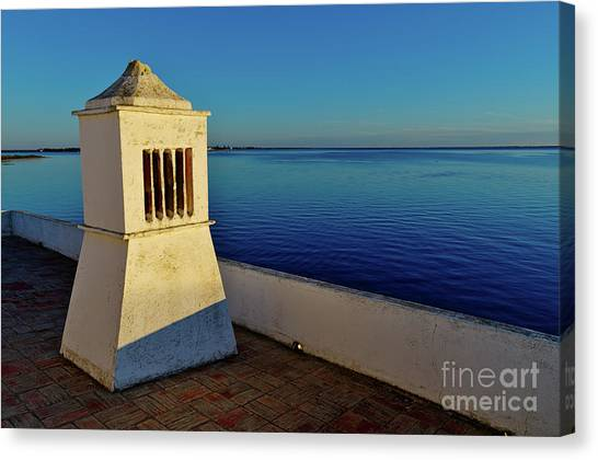 Mediterranean Chimney II. Portugal Canvas Print