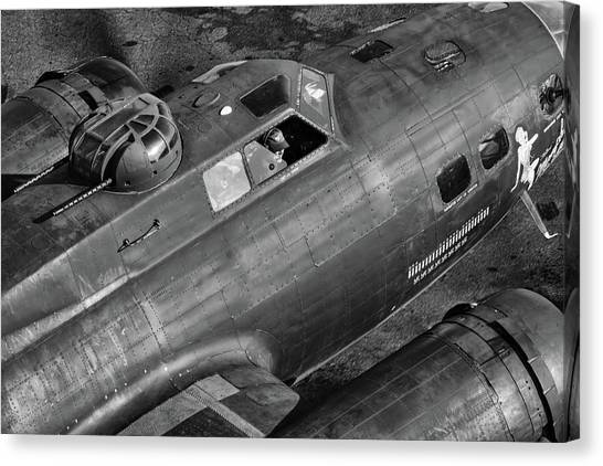 Memphis Belle From On High Canvas Print