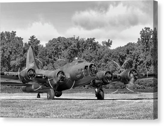 United States Army Air Corps Canvas Print - Memphis Belle Magic by Peter Chilelli