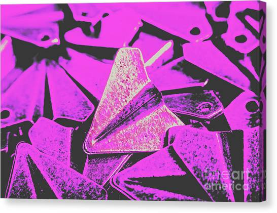 Flight Canvas Print - Metal Wings by Jorgo Photography - Wall Art Gallery