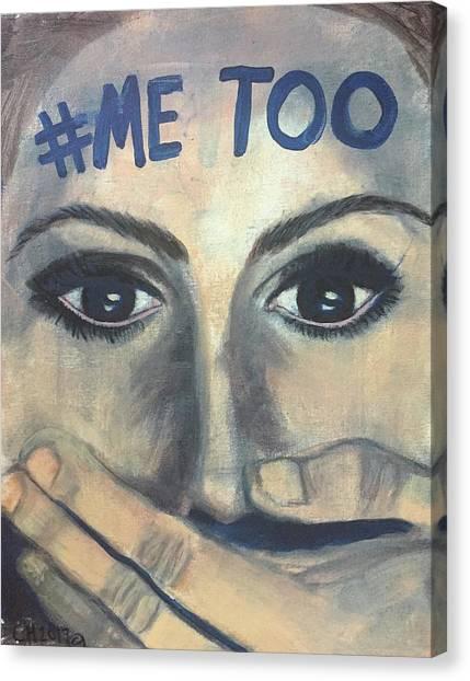 #me_too Canvas Print