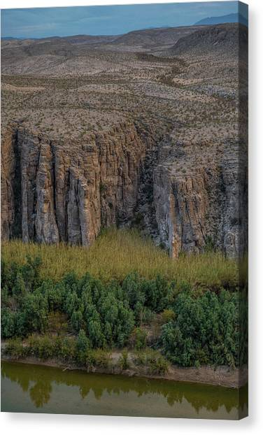 Mexican Box Canyon Canvas Print