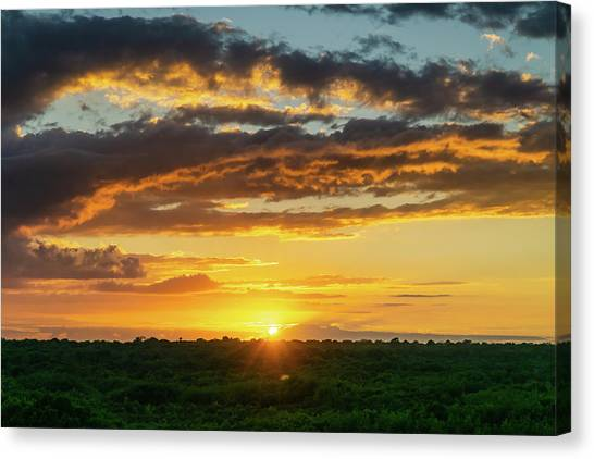 Mexico Sunset Full Canvas Print