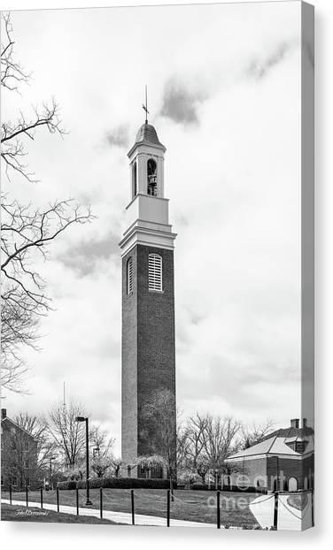 Mac Canvas Print - Miami University Beta Bell Tower by University Icons