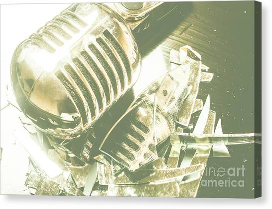 Compose Canvas Print - Mic Drop by Jorgo Photography - Wall Art Gallery