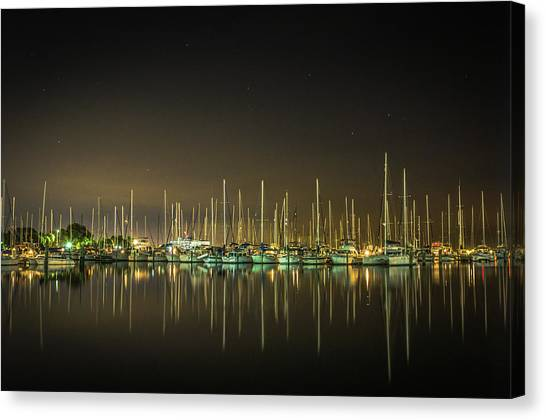 Midnight Reflections Canvas Print