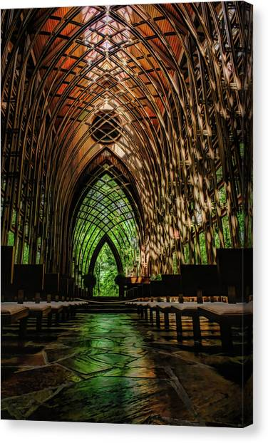 Mildred B. Cooper Memorial Chapel Canvas Print