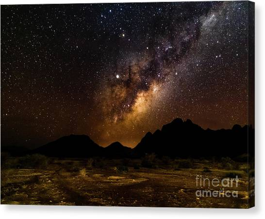 Milkyway Over Spitzkoppe 2, Namibia Canvas Print
